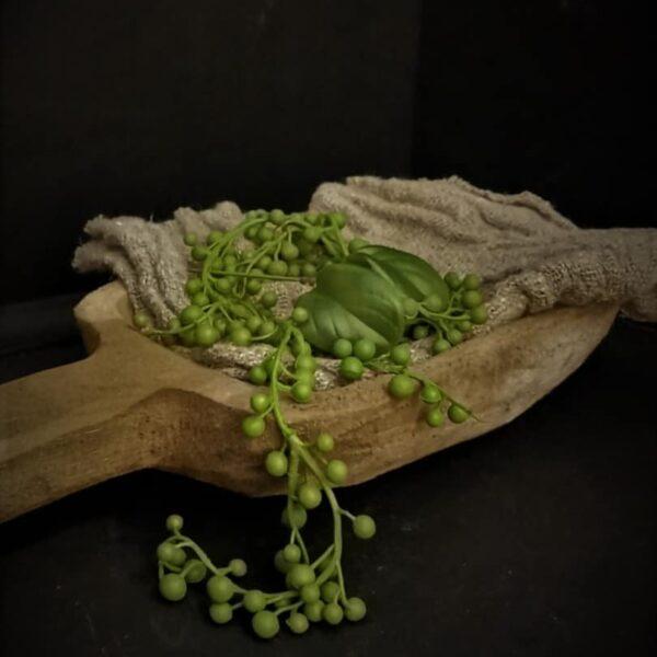 Houten graanschep